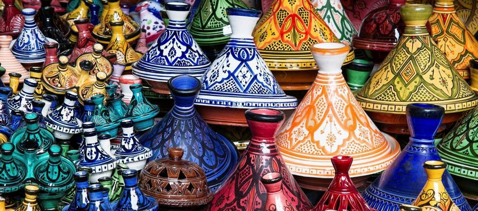 shopping tour in Morocco